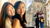 2 ái nữ sống xa Mỹ Lệ từ năm 14 tuổi: Giỏi 6 thứ tiếng, học trường 1,2 tỷ đồng/năm