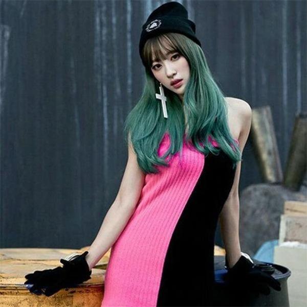 10 kiểu tóc màu xanh rêu đẹp nhất hiện nay phù hợp với mọi làn da - 3
