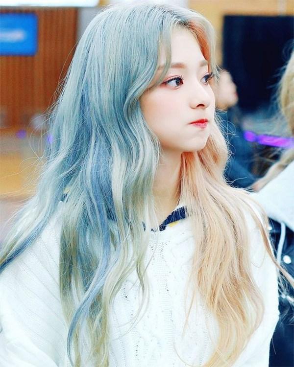 10 kiểu tóc màu xanh rêu đẹp nhất hiện nay phù hợp với mọi làn da - 10