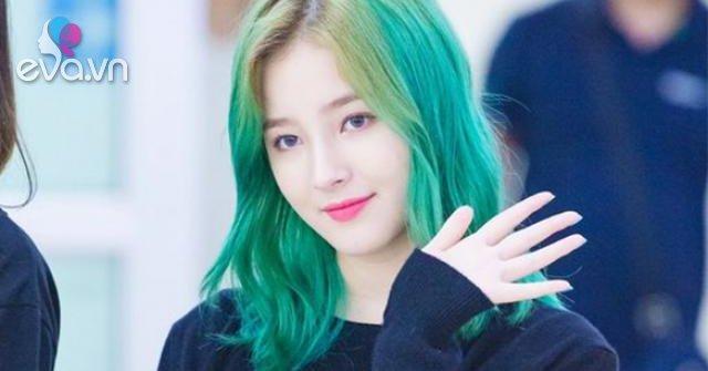 10 kiểu tóc màu xanh rêu đẹp nhất hiện nay phù hợp với mọi làn da