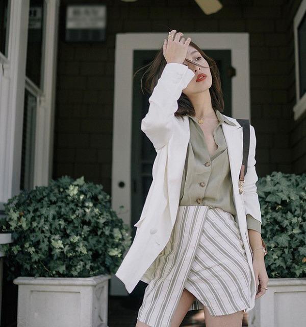 Những trang phục màu trắng chị em nên sở hữu, có thể dùng để phối đồ quanh năm - 12