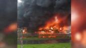 Biển lửa bao trùm KCN Yên Phong, khói bốc cao hàng chục mét