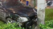 Hiện trường vụ nữ tài xế đạp nhầm chân ga, tông 8 xe máy ở TP.HCM