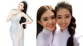 Hoa khôi trường rich kid đi thi Hoa hậu, xem ảnh mới biết là bạn thân HHHV Khánh Vân