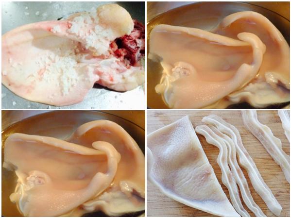Cách làm bún mắm nêm thịt heo quay và thịt heo luộc ngon chuẩn vị