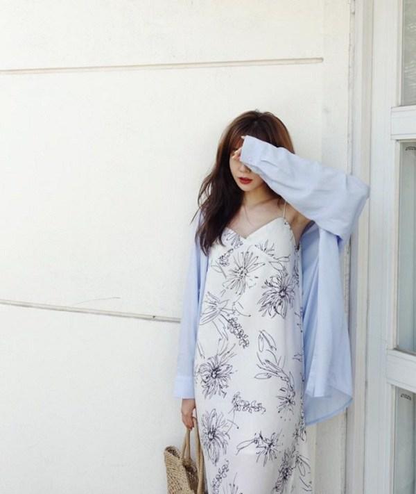 Đừng vội cất những chiếc váy hai dây, nàng có thể dùng chúng phối đồ những ngày chớm thu - 11