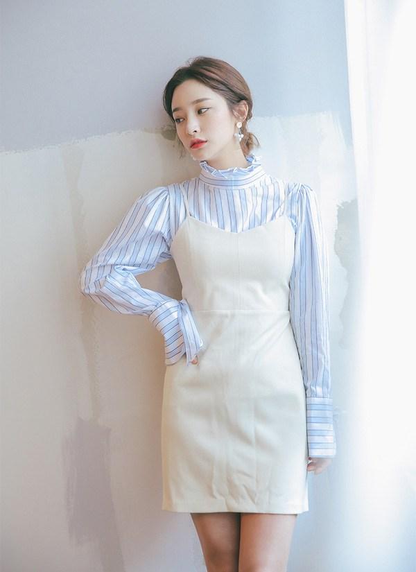 Đừng vội cất những chiếc váy hai dây, nàng có thể dùng chúng phối đồ những ngày chớm thu - 1