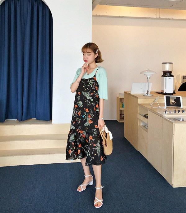 Đừng vội cất những chiếc váy hai dây, nàng có thể dùng chúng phối đồ những ngày chớm thu - 6