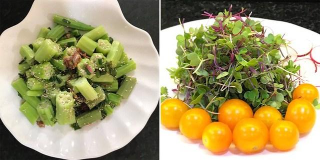 Mẹ đảm Sài Gòn trồng rau sân thượng tốt um như... rau quả amp;#34;đột biếnamp;#34; - 13