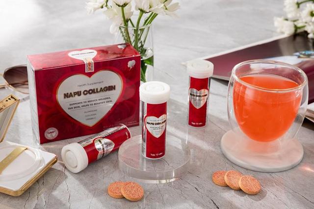 NAPU Collagen - Viên sủi trắng hồng rạng rỡ đang thu hút giới làm đẹp nhờ thành phần ưu việt - 3