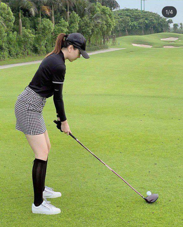 Thời trang sân golf của các mỹ nhân V-biz: cùng 1 công thức nhưng mỗi người mỗi vẻ - 6