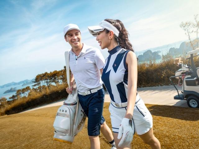 Thời trang sân golf của các mỹ nhân V-biz: cùng 1 công thức nhưng mỗi người mỗi vẻ - 5