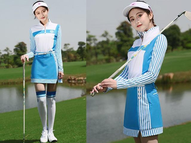 Thời trang sân golf của các mỹ nhân V-biz: cùng 1 công thức nhưng mỗi người mỗi vẻ - 3