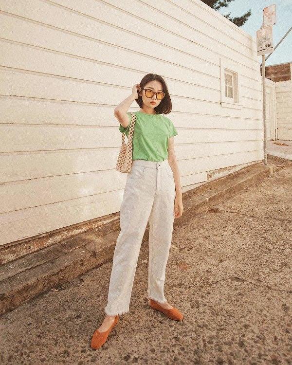Diện quần đi làm không hề cứng nhắc, nàng công sở thừa sức mặc đẹp nhờ những công thức này - 8