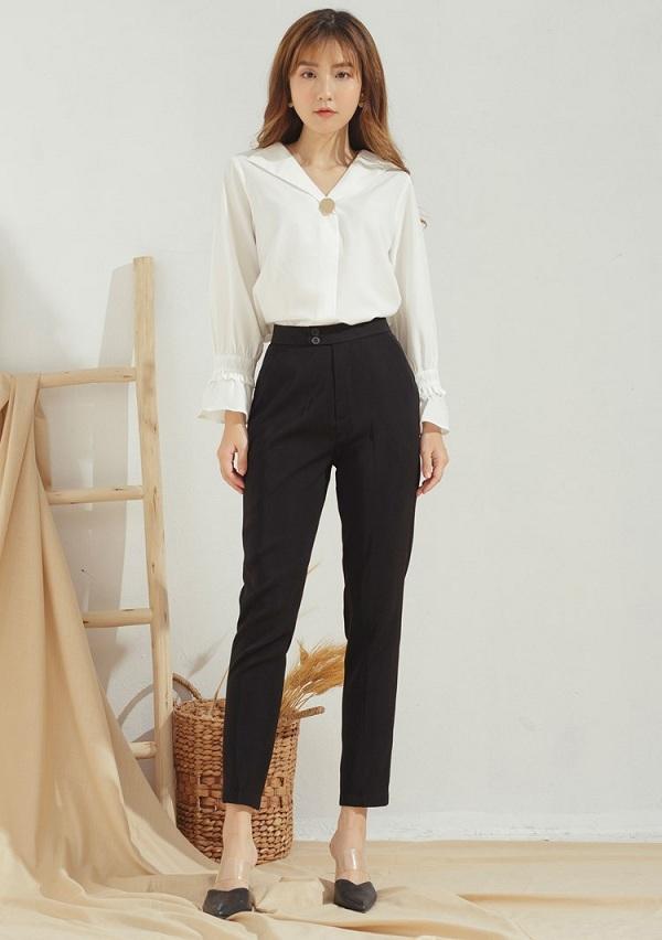Diện quần đi làm không hề cứng nhắc, nàng công sở thừa sức mặc đẹp nhờ những công thức này - 13