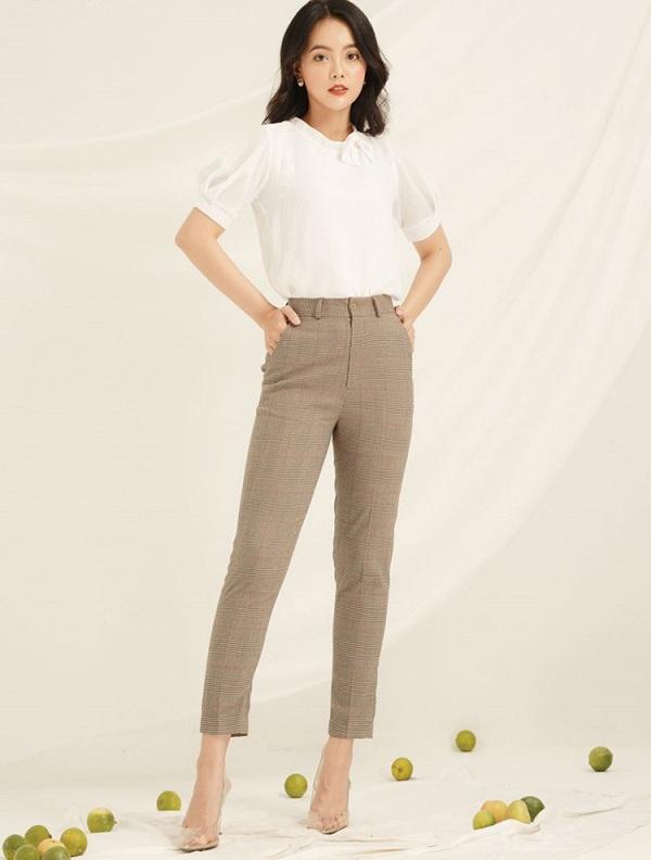Diện quần đi làm không hề cứng nhắc, nàng công sở thừa sức mặc đẹp nhờ những công thức này - 10