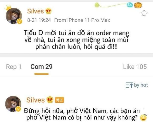 Chê bai phở Việt Nam có amp;#34;mùi hôi chânamp;#34;, hotboy Trung Quốc bị dân mạng Việt kịch liệt phản pháo - 1