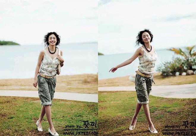 Kim Tae Hee bị amp;#34;đào mộamp;#34; ảnh thời còn amp;#34;hai lúaamp;#34;, nhìn xuống bụng ngấn mỡ ai cũng ngỡ ngàng - 3