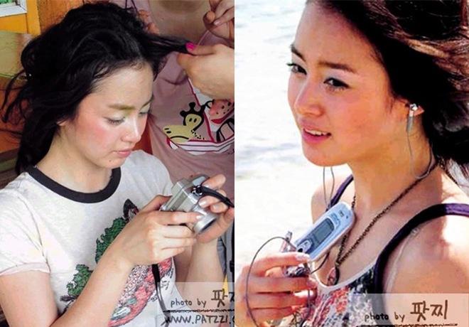 Kim Tae Hee bị amp;#34;đào mộamp;#34; ảnh thời còn amp;#34;hai lúaamp;#34;, nhìn xuống bụng ngấn mỡ ai cũng ngỡ ngàng - 5