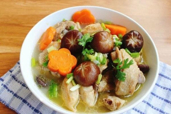 Cách nấu canh gà thơm ngọt bổ dưỡng đơn giản dễ làm - 10