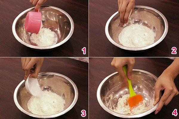 Cách làm đế bánh pizza tại nhà ngon giòn xốp như ngoài hàng - 3
