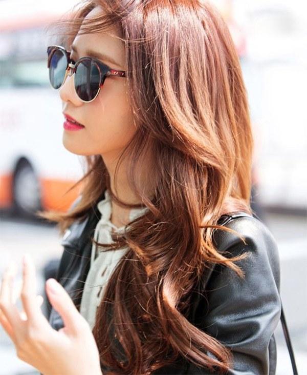 Những màu tóc nâu vàng đẹp được yêu thích nhất hiện nay - 12