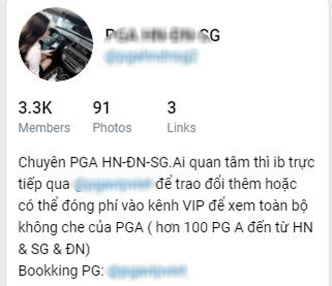 Những cô gái PGA sang chảnh: Đội lốt con nhà giàu, gái nhà lành, thực chất bán dâm trá hình - 4