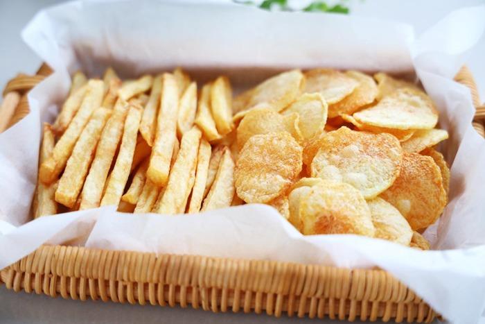 Thêm một bước khi chiên khoai tây, khoai sẽ mềm trong giòn ngoài, để lâu không ỉu - 8