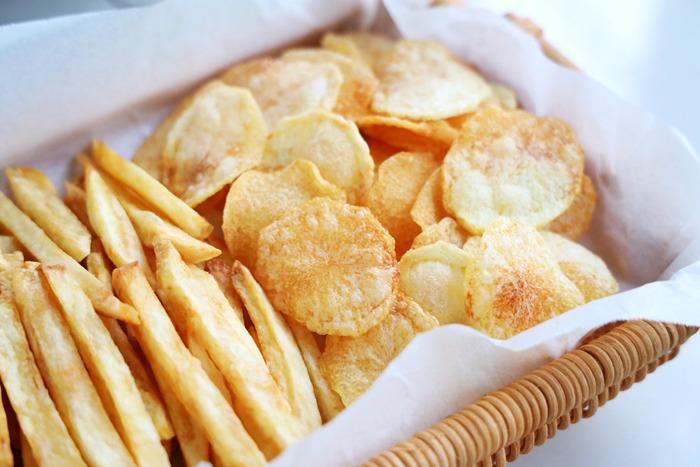 Thêm một bước khi chiên khoai tây, khoai sẽ mềm trong giòn ngoài, để lâu không ỉu - 9