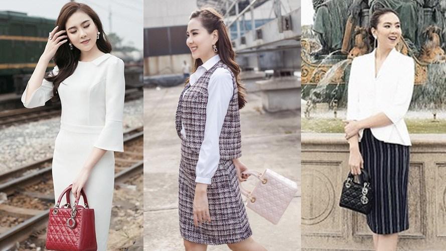 Soi gout ăn mặc của các BTV VTV: người mê sắm hàng hiệu, người quanh năm chỉ diện áo dài - 10
