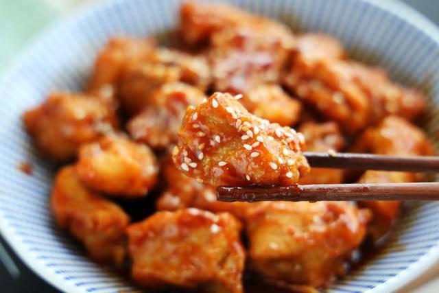 Rim, kho mãi cũng chán, đem sườn sốt chua ngọt thế này cả nhà ăn amp;#34;bayamp;#34; cả nồi cơm - 8