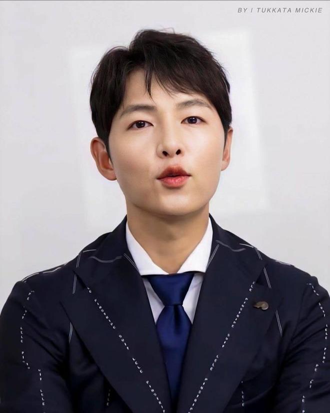 Song Joong Ki gây chú ý vì tăng cân, mặt tròn xoe nhưng tuyên bố của anh mới đáng bàn - 3