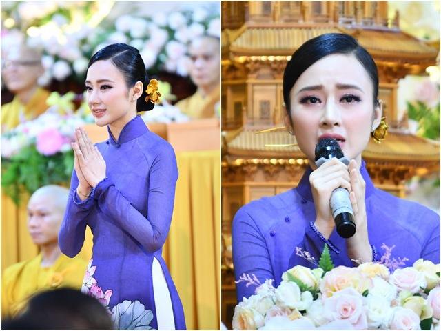 Sao Việt 24h: Hình ảnh đẹp thoát tục của Angela Phương Trinh ở chùa được khen tấm tắc