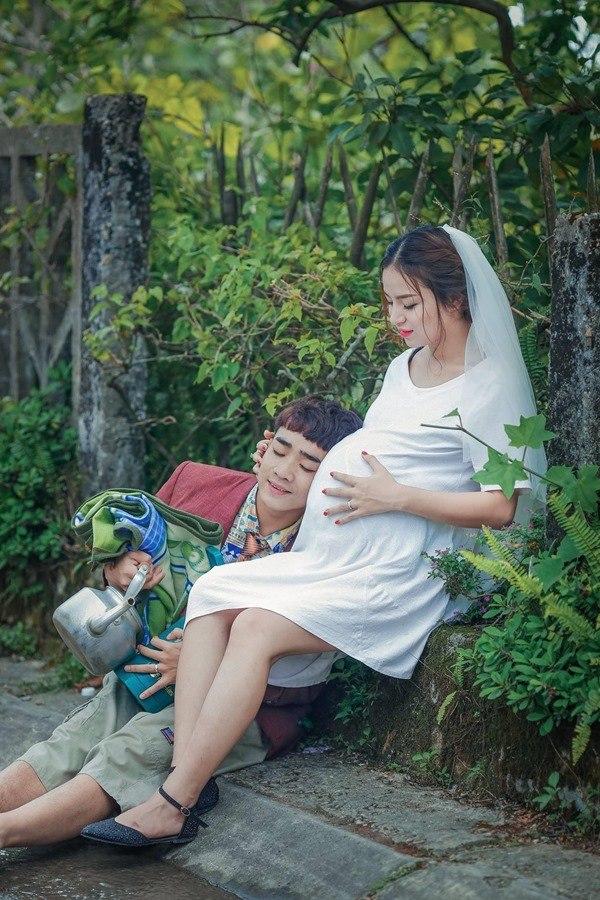 Nữ diễn viên amp;#34;Quỳnh búp bêamp;#34; cưới Đỗ Duy Nam, đi bán chân giò nướng nuôi con - 9
