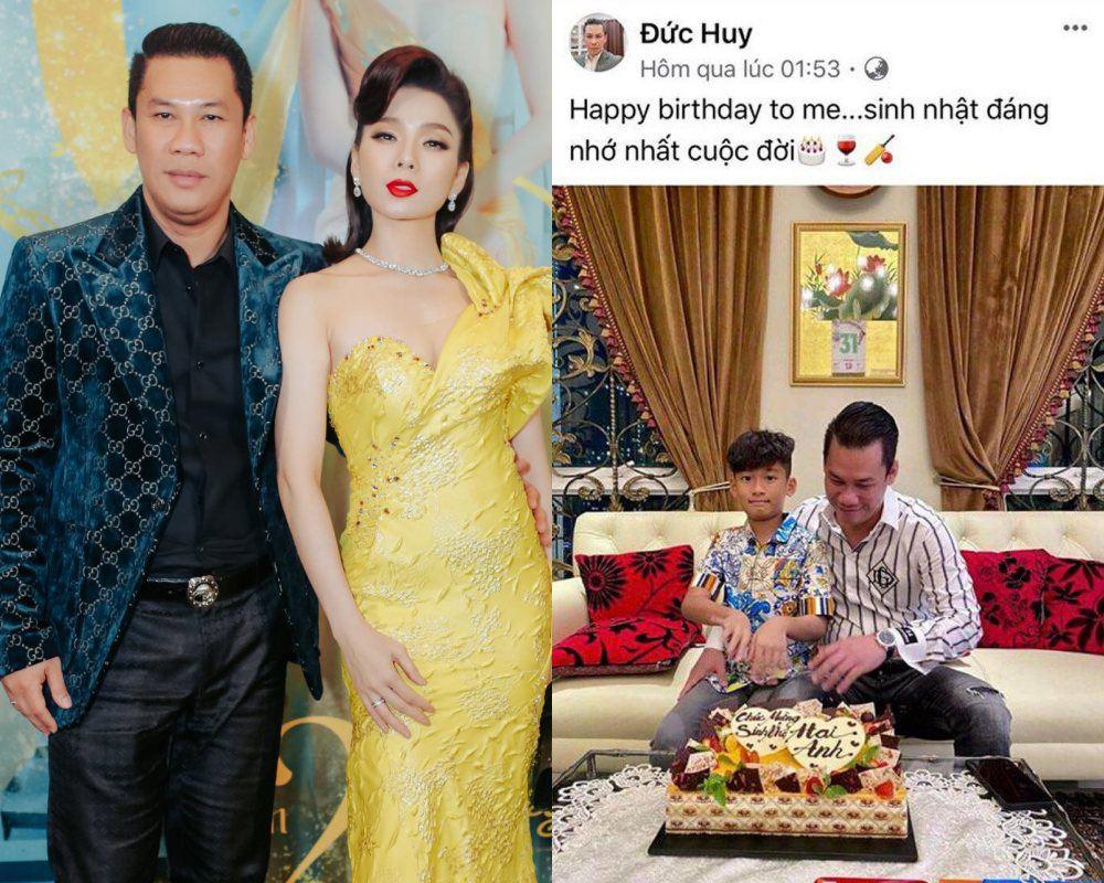 Giữa scandal Lệ Quyên hẹn hò trai trẻ, chồng doanh nhân lặng lẽ đón sinh nhật với con trai - 1