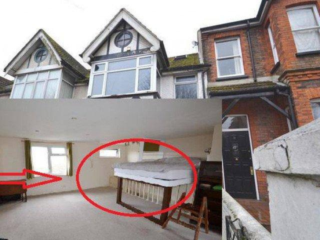 Ngôi nhà gần 4 tỷ gây sốt MXH chỉ vì chiếc giường được bắc ngang cầu thang