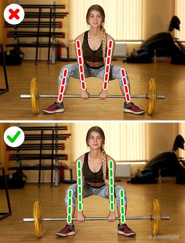 Tổng hợp những tư thế tập luyện sai chị em thường mắc phải rất dễ gây đau thắt lưng - 8