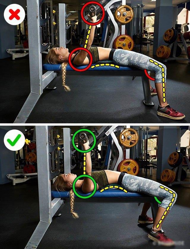 Tổng hợp những tư thế tập luyện sai chị em thường mắc phải rất dễ gây đau thắt lưng - 5