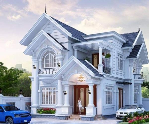 Mẫu nhà 2 tầng đẹp đơn giản hiện đại phù hợp cả nông thôn và thành thị - 14