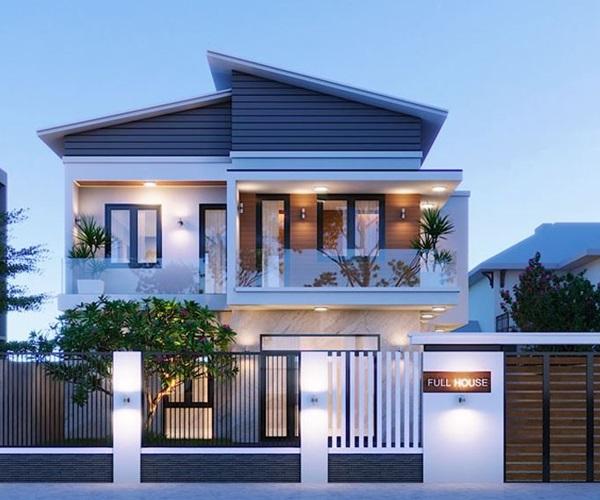 Mẫu nhà 2 tầng đẹp đơn giản hiện đại phù hợp cả nông thôn và thành thị - 22
