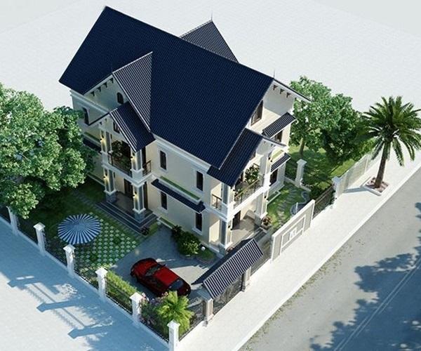 Mẫu nhà 2 tầng đẹp đơn giản hiện đại phù hợp cả nông thôn và thành thị - 18
