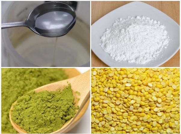 Cách làm bánh trung thu trà xanh và dẻo đơn giản nhất - 1