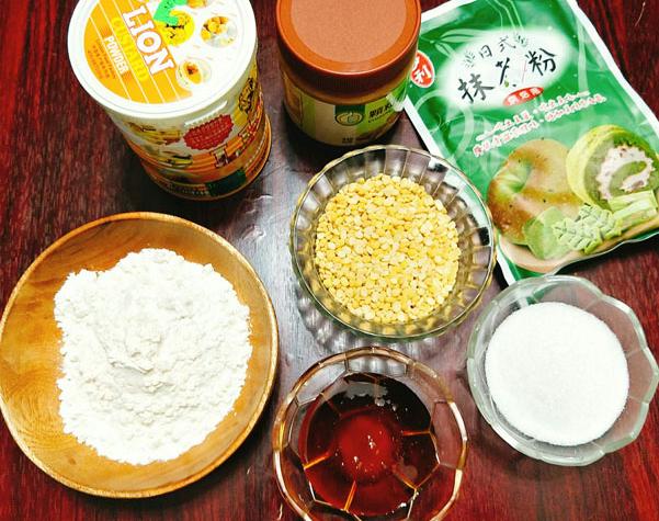 Cách làm bánh trung thu trà xanh nướng và dẻo đơn giản nhất - 8