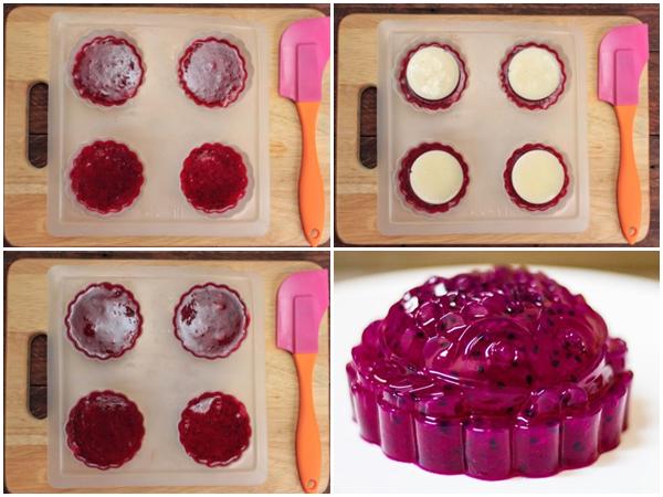 Cách làm bánh Trung thu rau câu đơn giản tại nhà mà đẹp hết ý - 19