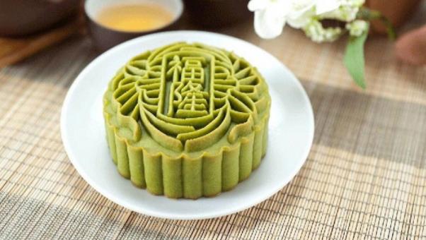 Cách làm bánh trung thu trà xanh nướng và dẻo đơn giản nhất - 7