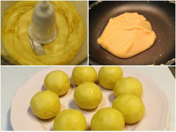 Cách làm bánh trung thu muối và trứng muối tan cực đơn giản - 4