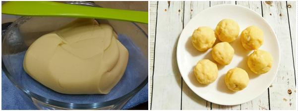 Cách làm bánh trung thu trà xanh nướng và dẻo đơn giản nhất - 3