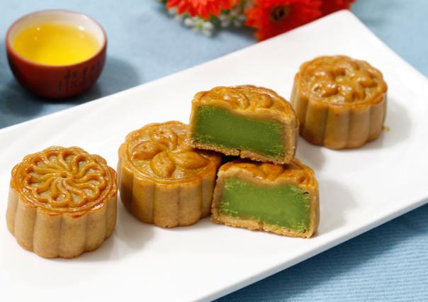 Cách làm bánh trung thu trà xanh nướng và dẻo đơn giản nhất - 13