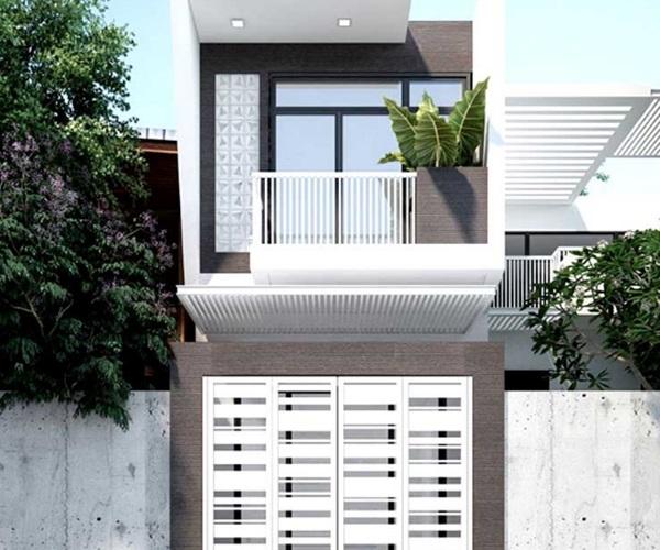 Mẫu nhà 2 tầng đẹp đơn giản hiện đại phù hợp cả nông thôn và thành thị - 9