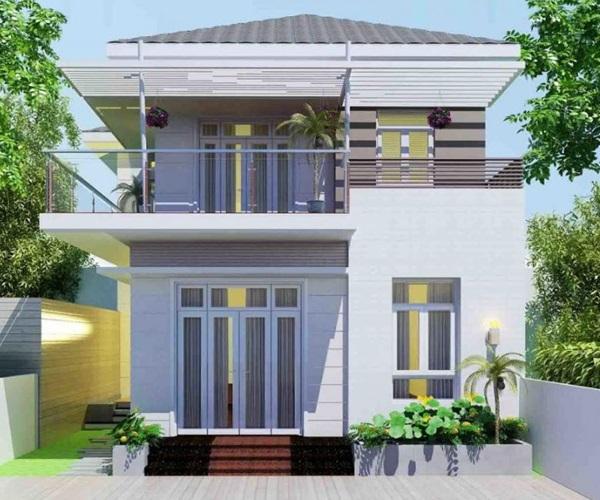 Mẫu nhà 2 tầng đẹp đơn giản hiện đại phù hợp cả nông thôn và thành thị - 21